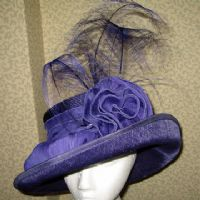 Ascot Violet Hat  - SN702